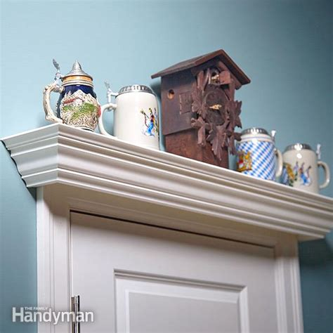 door display shelf plans  family handyman