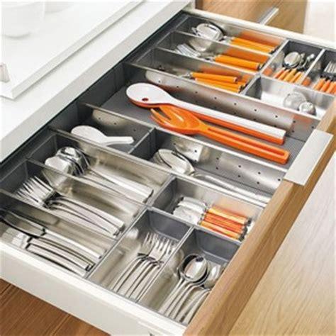 rangement couverts tiroir cuisine accessoires de rangement pour couverts ustensiles de