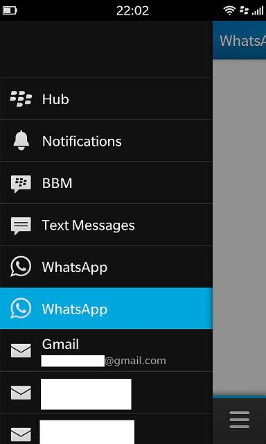 unable to delete whatsapp from z10 hub blackberry forums at crackberry