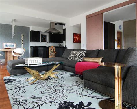 sala sofa preto e painel 15 fotos de decora 231 227 o de sala sof 225 preto