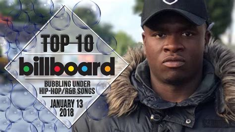 Top 10 • Us Bubbling Under Hip-hop/r&b Songs • January 13