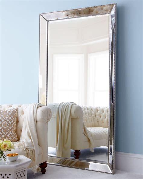 floor mirror in bedroom beaded floor mirror