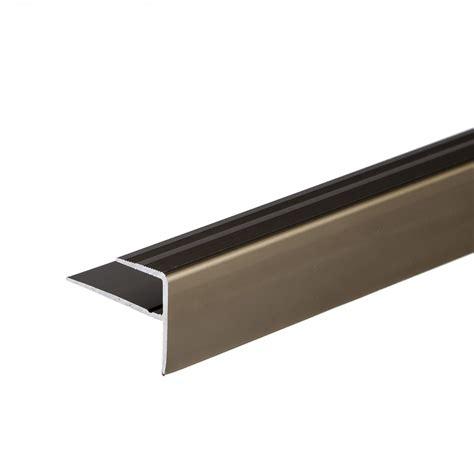 vinyl flooring edge trim anodised aluminium carpet edge nosing cover strip door floor bar trim 900x23mm ebay