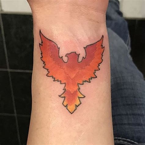 small phoenix tattoos images  pinterest small