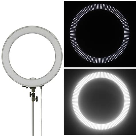 ring light for video neewer 18 quot 55w 240pcs led smd dimmable ring video light w