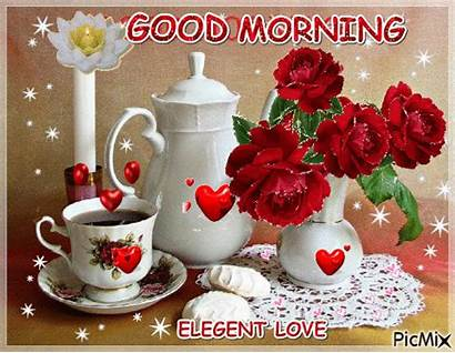 Morning Picmix Tea Sparkle Gifs Coffee Flowers