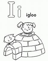 Coloring Igloo Pages Popular Activity sketch template