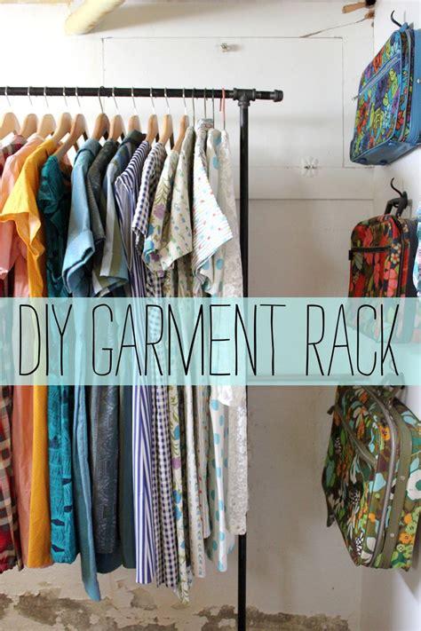 diy clothes rack garment rack d i y a beautiful mess