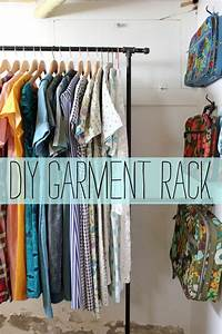 Garment Rack D I Y – A Beautiful Mess
