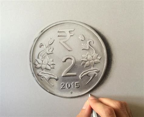 3d drawings sushant coin rane hyperrealistic artist looks
