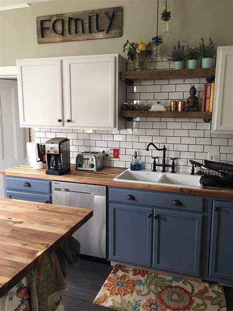 kitchengoals note blue  behr ultra premium