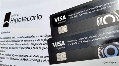 Solicitar Tarjeta Visa Banco Hipotecario en Argentina【2021 】