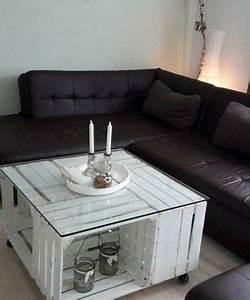 Tisch Aus Holzkisten : vier obstkisten machen einen tollen tisch tolle ideen f r unsere kisten pinterest ~ Frokenaadalensverden.com Haus und Dekorationen