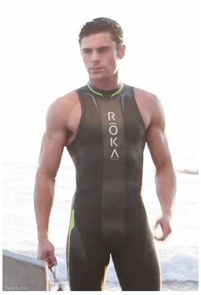 Zac Efron Bulge Male Fitness Baywatch Frontal