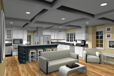 open floor plan kitchen and family room floor plans for family room additions 9661
