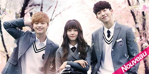 drama coreen    school  gratuit en francais