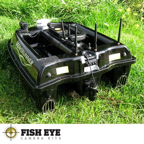 Fishing Bait Boat Kits by Waverunner Mk3 Fully Loaded Fishing Bait Boat Fish Eye