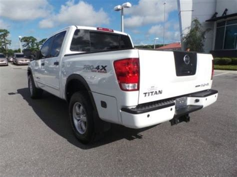 Nissan Titan Bed Extender by Purchase Used Pro 4x 5 6l 4x4 Bluetooth Cruise Tow