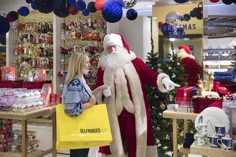 selfridges opens christmas shop 147 days before christmas day