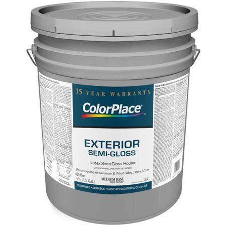 Color Place Exterior Semigloss Medium Paint Base
