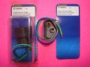 Chrysler Mopar Replacement Alternator Voltage Regulator