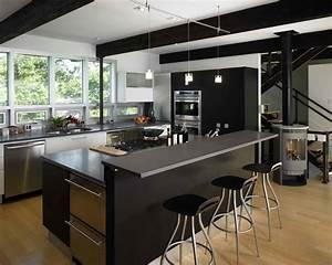 43, Dramatic, Black, Kitchens, That, Make, A, Bold, Statement