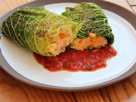 cuisine vegetalienne recettes de paupiettes et chou