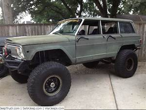 One Of A Kind Custom Built 1973 Jeep Wagoneer Low Mileage Engine Tires  Wheels 40