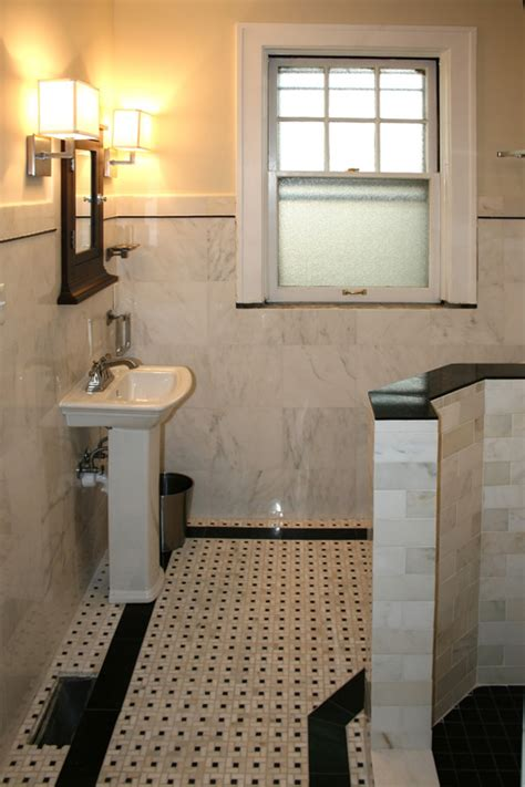 decosee pebble stone shower floor