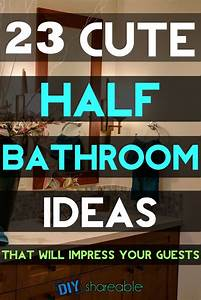 23 Cute Half Bathroom Ideas That Will Impress Your Guests ...