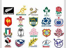 Rugby National Team Emblems