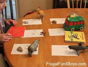 learning activities for four year olds frugal fun for With letter learning games for 4 year olds