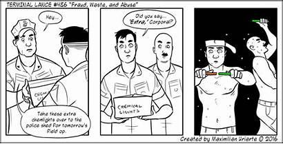 Fraud Abuse Waste Lance Terminal Marines Funny