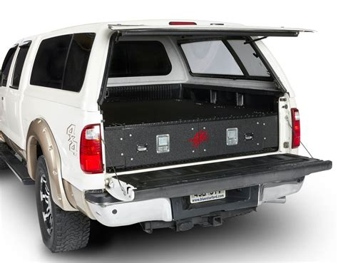 truck bed drawers cargoease truck bed lockers