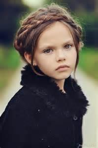Beautiful Little Girl Braids