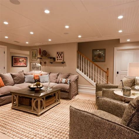 living room basement cozy basement walkout basement pinterest basement ideas living rooms and ceilings