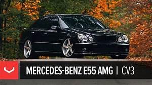 E55 Amg W211 : mercedes benz e55 amg on 20 vossen vvs cv3 concave wheels rims youtube ~ Medecine-chirurgie-esthetiques.com Avis de Voitures