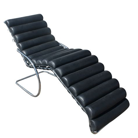 chaise mies der rohe mies der rohe adjustable mr chaise lounge ebay