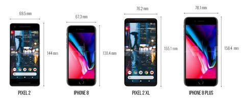 pixel 2 and pixel 2 xl size comparison