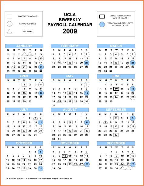 pay period calendar bi weekly payroll calendars