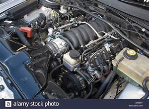 Chevrolet Ls1 Engine In An Australian Holden Commodore Stock Photo  32105051