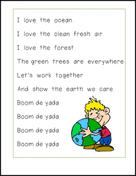 earth day song freebie rubber boots and shoes 123 | Boom Di Yada 1