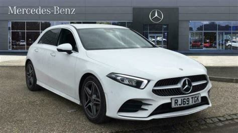 Petrol, hatchback from £34,400 rrp. 2020 Mercedes Benz A CLASS A200 AMG Line Premium 5dr Auto Petrol Hatchback Hatch | in Reading ...