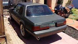 86' mustang 5.0 b303 cam slp exhaust - YouTube