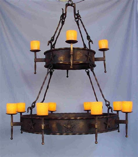 wrought iron outdoor candle chandelier light fixtures