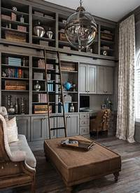 office design ideas 28 Dreamy home offices with libraries for creative inspiration