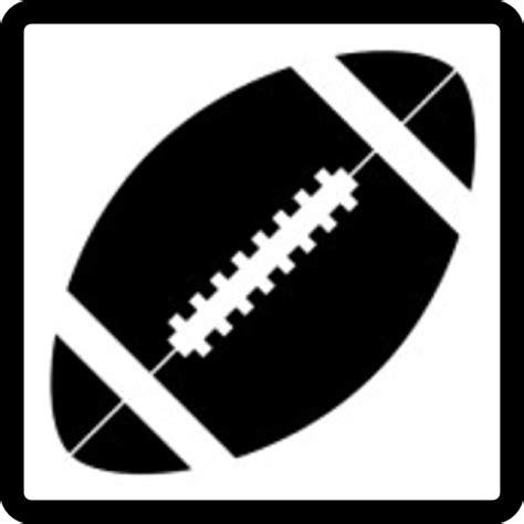 american football vector black and white clip football field side view clipart panda free