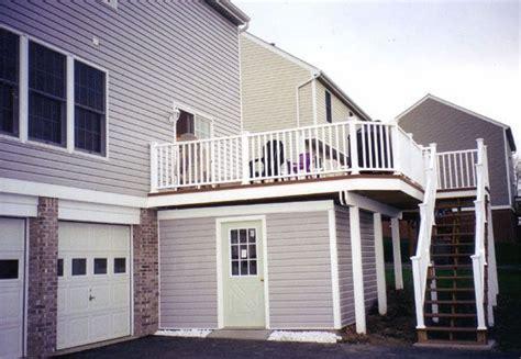 deck storage shed deck storage shed 6533
