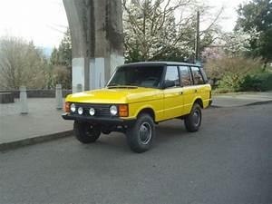 1989 Range Rover Turbo Diesel 200tdi 5