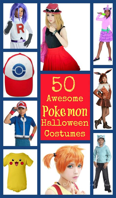 50 Awesome Pokemon Halloween Costumes And Accessories